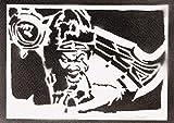 Poster Draven League Of Legends LOL Grafiti Hecho A Mano - Handmade Street Art - Artwork
