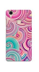 Kaira High Quality Printed Designer Back Case Cover For Vivo V3(19)