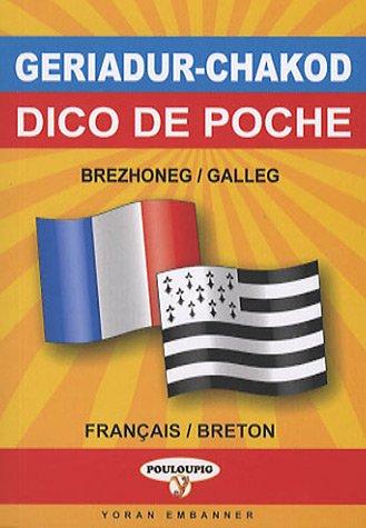 Dictionnaire de poche breton-français/français-breton par Treveur Lezernan