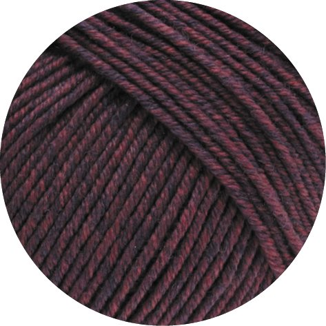Lana Grossa Merino Superfein Cool Wool Melange Fb. 137 bordeaux melange