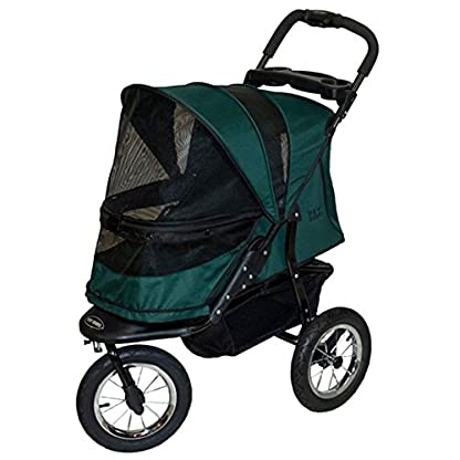 Pet Gear Jogger No-Zip Stroller, Rugged Red 1