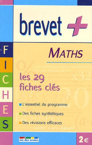 Maths : Les fiches clés