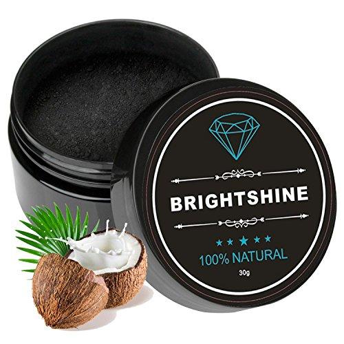 Natürliches Aktivkohle Zahnaufhellung pulver mit Aktivkohle pulver 100% REIN Teeth Whitening