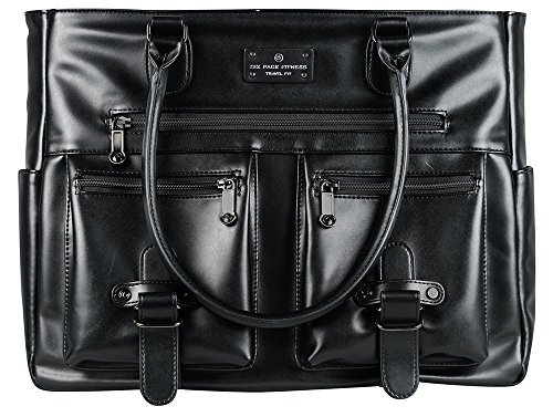 Fitness Expert Renee Meal Management Tote Black by 6 Pack Fitness