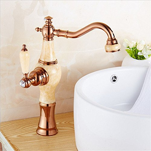 YSRBath Modernos Grifos del Fregadero del Cuarto de baño Frío y Caliente de Latón Moderno Cocina Mezclador Grifos de Lavabo Accesorios de baño