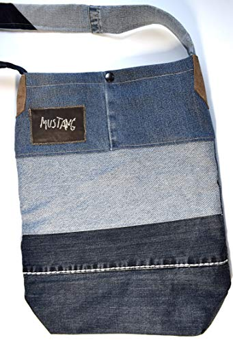 Handtasche, Jeanstasche, Umhängetasche, Upcycling