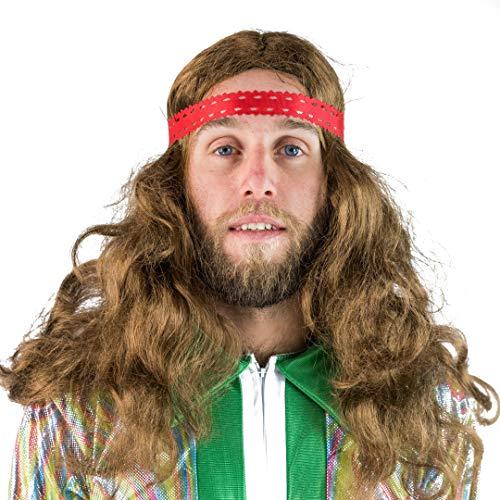 Bodysocks Hippie Perücke (Für Hippie-perücken Halloween)