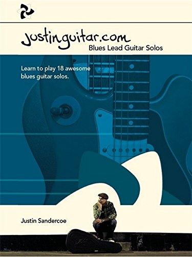 Justinguitar.Com Blues Lead Guitar Solos Book par collectif