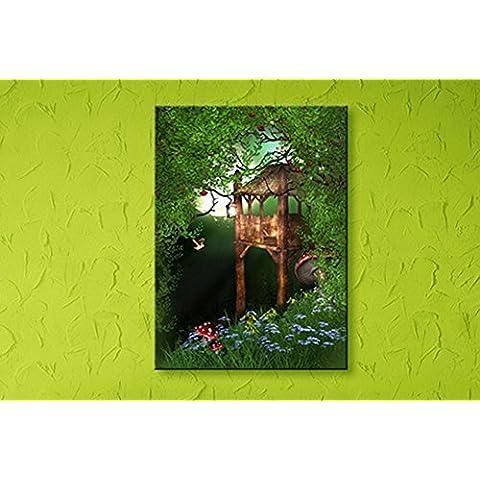 XYXY Fantasía decorativa pintura colgante pinturas hogar luz salón Simple moderno luminoso pintura paisaje . c . 30*40