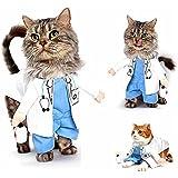 Pet OnlineCat Ropa Halloween Dress Up transfiguración Navidad gracioso ropa pet,médico,M