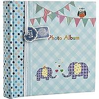 Álbum de fotos grande para bebés y niños, con apartados para notas, espacio para