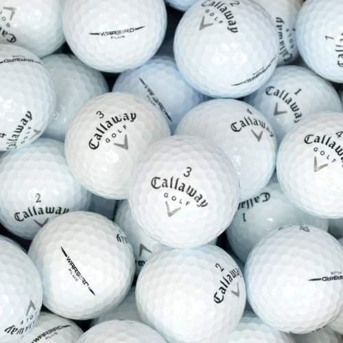 Second Chance Callaway Warbird Premium Lake Golf Balls (Grade A)