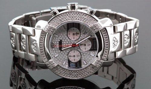 Aqua Master reloj de diamantes para hombre # 96–20cable de modelo