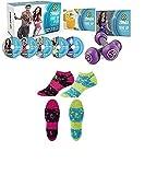 Zumba Fitness Tone Up 5 System DVD + Socken 2er Set