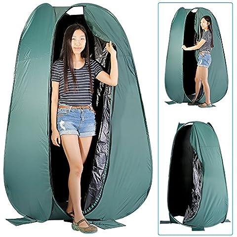 Neewer® 6pies/183cm portátil para interior y exterior Photo Studio Pop Up Changing Dressing Fitting sala de tienda con funda de transporte (verde)
