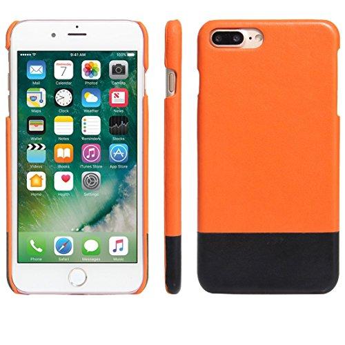 Hülle für iPhone 7 plus , Schutzhülle Für iPhone 7 Plus Modische Farbabstimmung Bicolourable PC + PU Leder Rückseiten Fall Fall ,hülle für iPhone 7 plus , case for iphone 7 plus ( SKU : IP7P5572E ) IP7P5572E