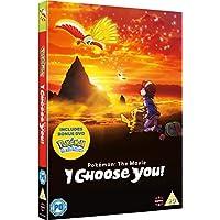 Pokemon The Movie: I Choose You! DVD with Bonus First Movie Disc