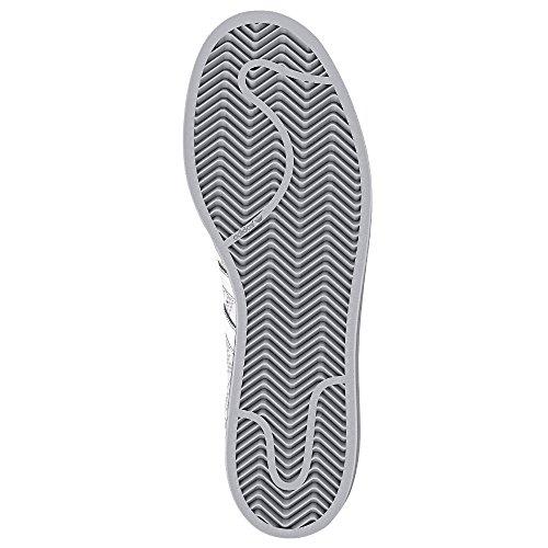 adidas Superstar Foundation Herren Sneakers White/White/Collegiate Red
