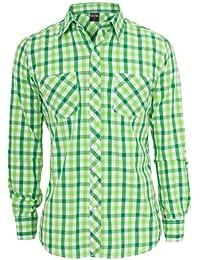 Urban Classics Tricolor Big Men Checked Shirt TB414