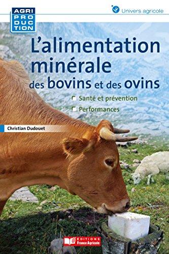Alimentation minérale des ovins et des bovins