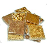 #7: Emazing Gourmet - Special Export Quality Mix Chikki (Crushed Peanut, Peanut, Coconut & Til/Sesame)- 400 grams. High Content Of Dry Fruits - Low Sugar - Our Very own DESI - Energy Bar !