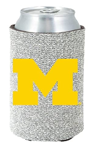 Michigan Wolverines Glitter Kolder Kaddy Can Holder