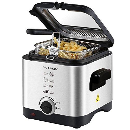 Aigostar Fries 30IZD, friggitrice da 1,5 litri e 900 W