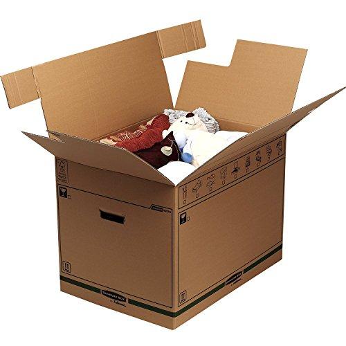 Bankers Box SmoothMove FastFold Umzugskiste (Extra Große) 5er-Pack - 2