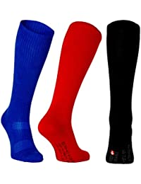Calcetines de Compresión de Algodón Orgánico, 3 o 1 pares, para hombres y mujeres