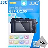 JW GSP-LX100 Tempered Toughened Optical Glass Camera Screen Protector 9H Hardness Anti-Bubble Anti-scratch Anti-burst Anti-fingerprint Ultra-thin Super Light Transmittance For Panasonic DMC-LX100 LEICA D-LUX (Typ 109) Digital Camera + JW emall Micro Fiber Cleaning Cloth