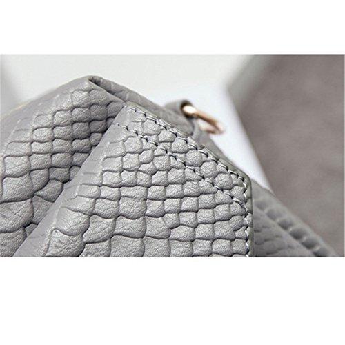 la versione coreana del pacchetto piccola piazza borsa borsa una borsa,cachi gray