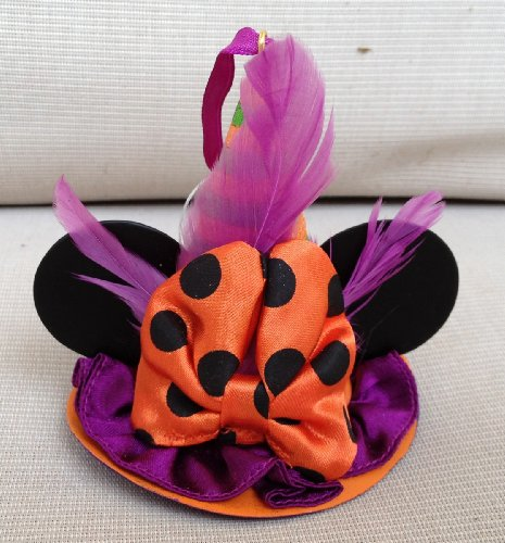 Disney Halloween Hexe Hat Minnie Mouse Ohren hat Ornament Mickey LIMITED EDITION