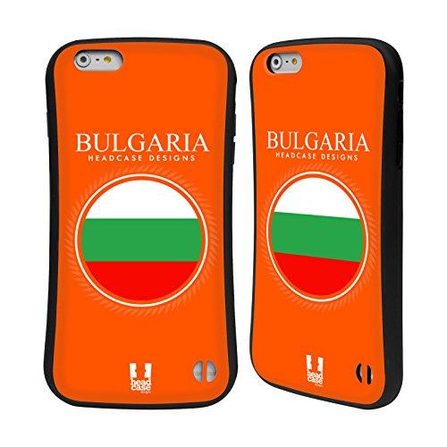 Head Case Designs Drapeau Canadien Drapeau Avec Armes Étui Coque Hybride pour Apple iPhone 6 / 6s Drapeau Bulgare