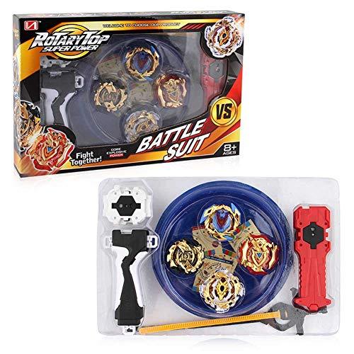 Christ For Givek Satz von Beyblade Wrestling Masters Fusion Kreisel Kreisel Gyro Metal Speed Spielzeug und Geschenke interessant für Kinder( XD168-12) (Beyblade 12)