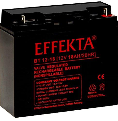 Effekta BT12-18 Starterbatterie Test