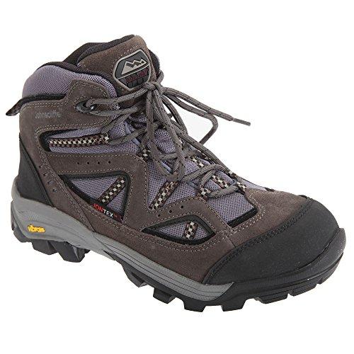 Johnscliffe Dartmoor - Chaussures montantes de randonnée - Garçon Gris foncé/Gris
