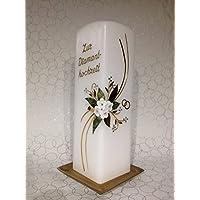 Hochzeitskerze zur Diamanthochze