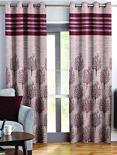 check MRP of maroon curtains for living room Story@Home