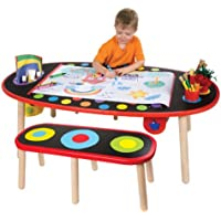Alex Toys Artist Studio Super Art Table with Paper Roll Wood