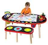 SUPER ART TABLE /W PAPER ROLL