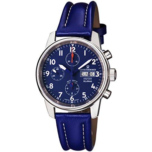 REVUE THOMMEN Airspeed XLarge Herren-Armbanduhr Schweizer AUTOMATIK 16051.6535