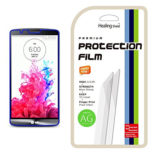 Healingshield Schutzfolie Displayschutz LG G3 Anti-Glare, Anti-Fingerprint Type LCD Screen Protector (Anti Protector Screen G3 Lg Glare)