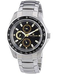 TOM TAILOR Herren-Armbanduhr XL Analog Quarz Edelstahl 5413304
