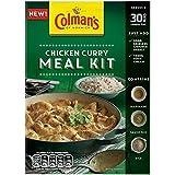 Colman's Pollo Al Curry Kit De Comida 321g (Paquete de 6)