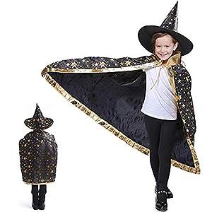 Anzmtosn Disfraces de Halloween Mago