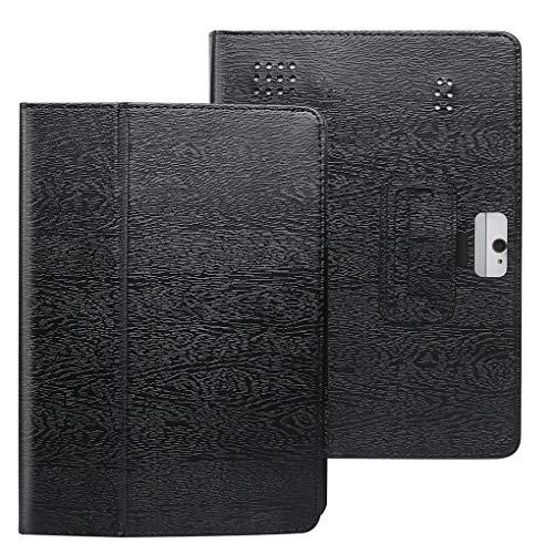 Kakiyi Leder-Tablette-Kasten Ersatz für 10-Zoll-Tablet-PC Standplatz-Fall-Schutzüberzug-Rückseiten-Kamera Öffnungs (10 Leder-tabletten-kasten)
