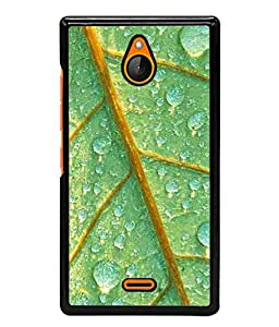 Fuson Designer Back Case Cover for Nokia X2 (in because today day to be your best self)