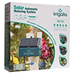 Irrigatia SOL-C12 Unique Solar Powered Weather Responsive Automatic Watering System, Green, 7 x 24 x 24 cm 10