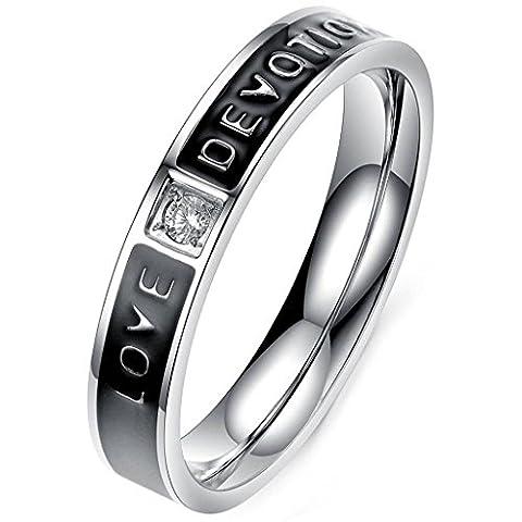 Aooaz Schmuck Unisex Ring,Intarsien CZ