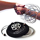 TOROIDZ - Amazing Magic Science Toy - UNIQUE WOW FACTOR! - Interactive Museum - 3D ARM SPRING - Fun Festival Stuff - Circus Trick - Physics Labs - All Ages - Kidz, Teen, Adult - Ultimate Gift